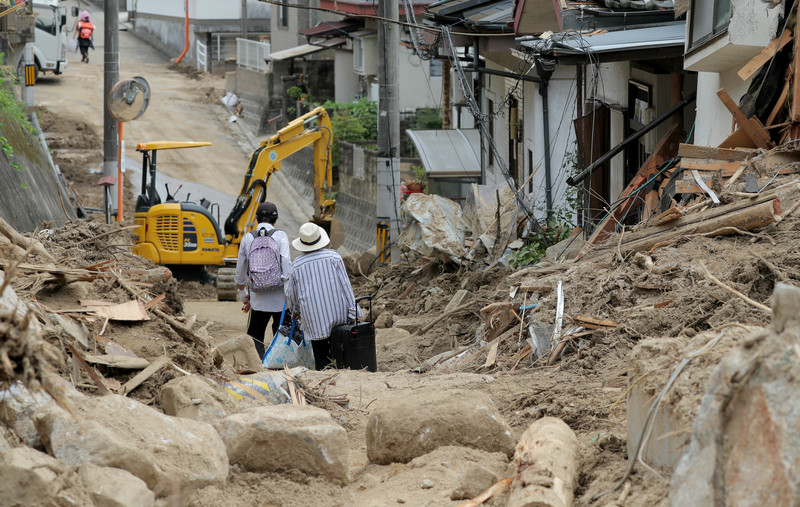 После потопа Японию накрыла аномальная жара: есть жертвы