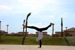 Египтянки практикуют паркур, нарушая общественные запреты
