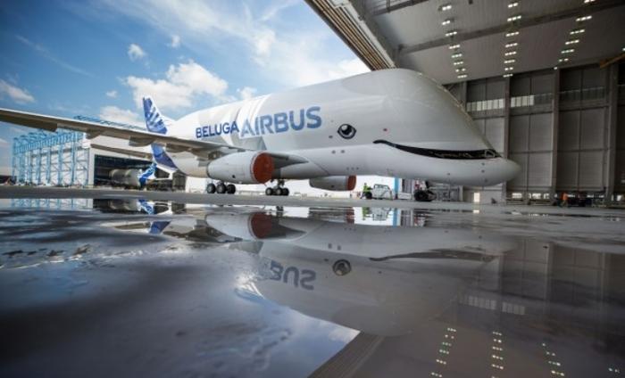 airbus презентовал самолет в виде белого кита Airbus презентовал самолет в виде белого кита 1530337605185096415