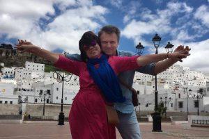 Испанское Марокко: белая голубка Тетуан и синий-синий Шефшауэн
