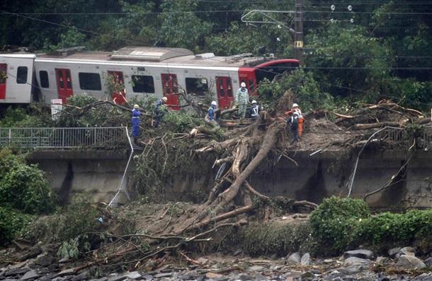 В Японии десятки людей погибли из-за сильнейших ливней