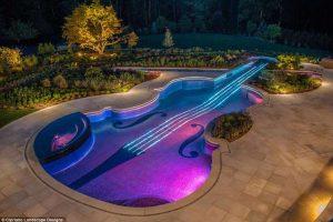 Скрипка, рояль, мороженое: самые необычные бассейны в мире