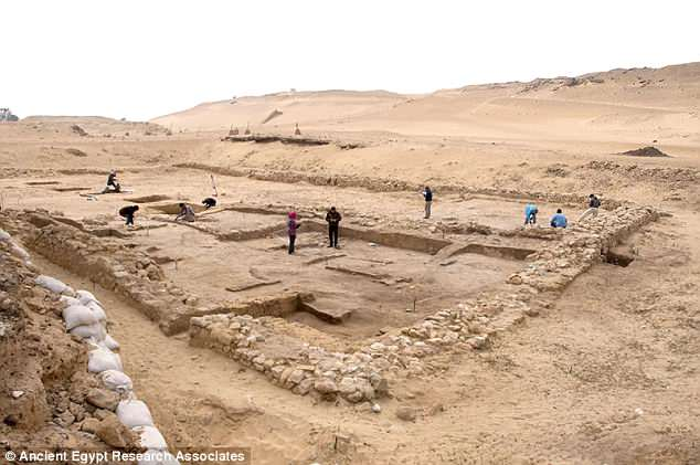Египт Археологи Египта нашли походную кухню строителей пирамид 4DE5961200000578 0 image a 54 1530737160431 1