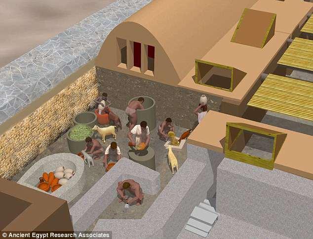 Египт Археологи Египта нашли походную кухню строителей пирамид 4DE5963400000578 0 image a 49 1530737043402