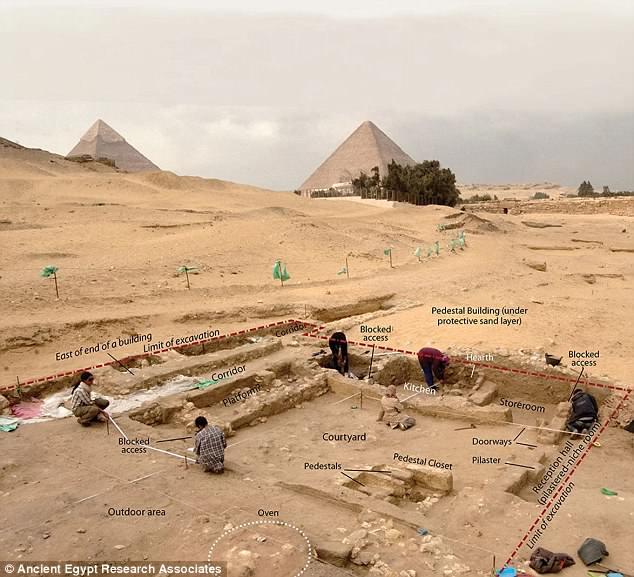 Египт Археологи Египта нашли походную кухню строителей пирамид 4DE5964E00000578 0 image a 47 1530737040938