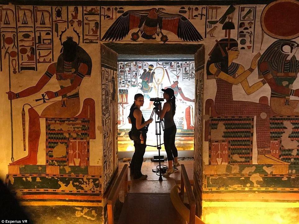 Археологи создали виртуальный тур по