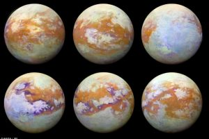 NASA показало, как выглядит Титан без атмосферы