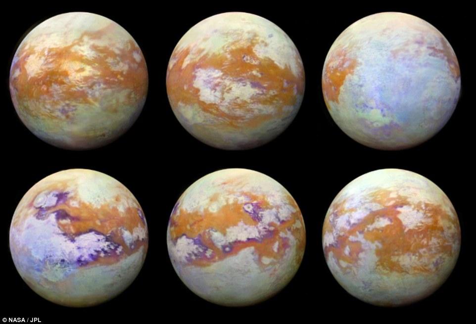 NASA показало, как выглядит Титан без атмосферы.Вокруг Света. Украина