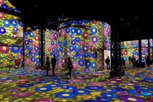 В Париже открылся первый цифровой художественный музей