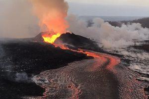 Извержение Килауэа на Гавайях породило новый вулкан
