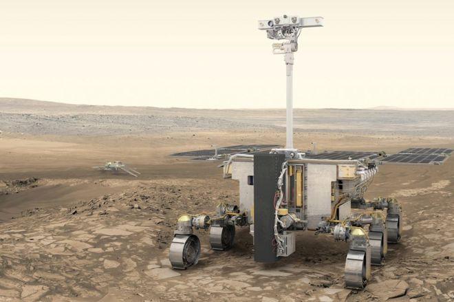 ESA просит придумать имя для нового марсохода