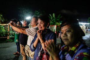 Спасение тайских подростков: на поверхность вывели четверых