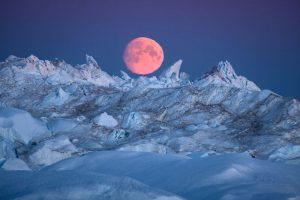 Мороз и солнце: невероятные снимки тающих ледников Гренландии