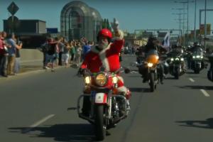 Прага отметила 115-летие Harley-Davidson самым длинным мотопробегом в Европе (видео)