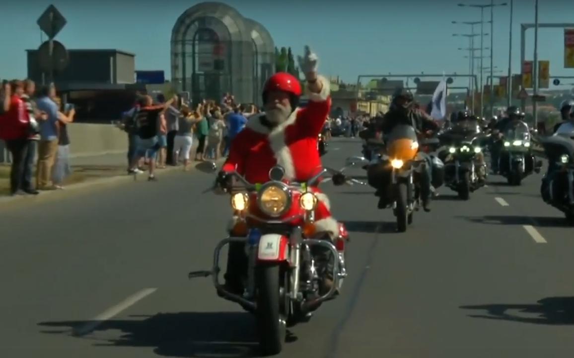 Прага отметила 115-летие Harley-Davidson самым длинным мотопробегом в Европе (видео).Вокруг Света. Украина