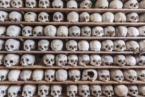 Из склепа британской церкви похищена коллекция черепов