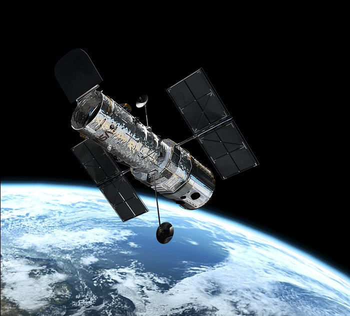 Хаббл снял Марс и Сатурн во время противостояния
