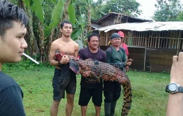 Индонезийцы казнили почти 300 крокодилов.Вокруг Света. Украина