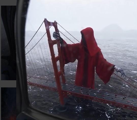 Канадских художник показал, как выглядит мост самоубийц