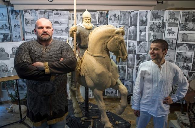 Киевский памятник Илье Муромцу напечатают на 3D-принтере