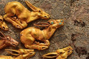 В Казахстане археологи обнаружили золотой клад