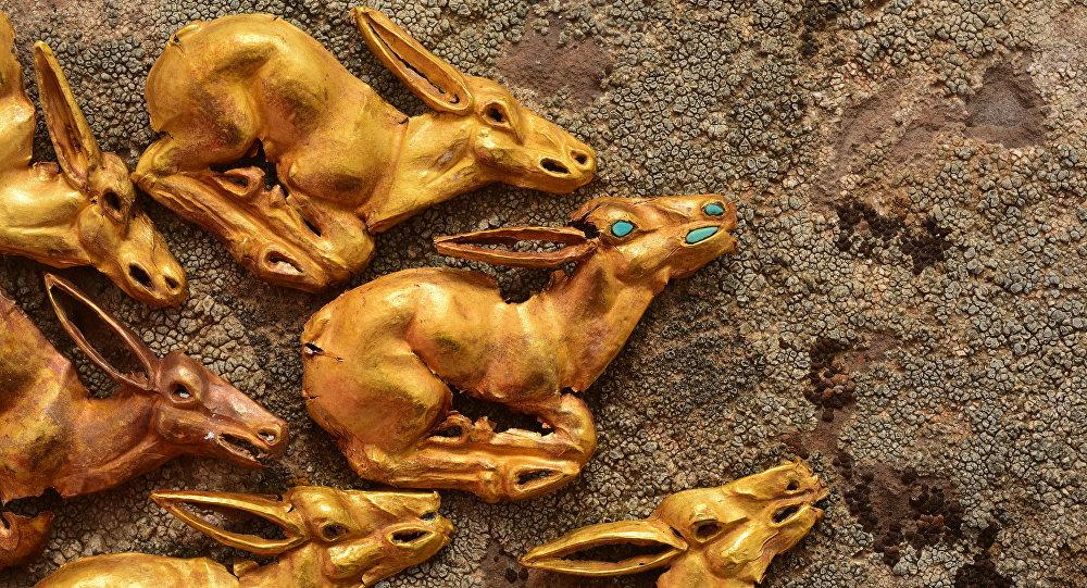 В Казахстане археологи обнаружили золотой клад.Вокруг Света. Украина