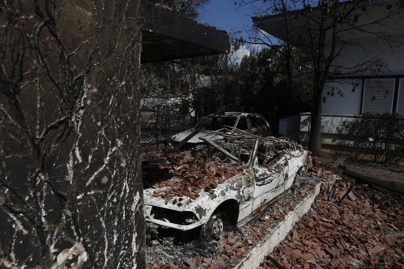 Лесной пожар в Греции стал самым смертоносным в Европе за 118 лет