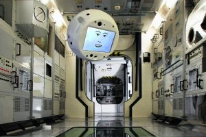 На МКС отправили робота-интроверта