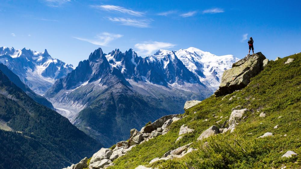Франция ограничила доступ к горе Монблан