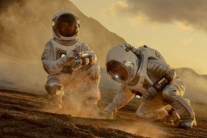 Как будут выглядеть дома на Марсе