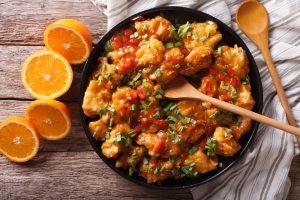 Кухни мира: курица по-мароккански