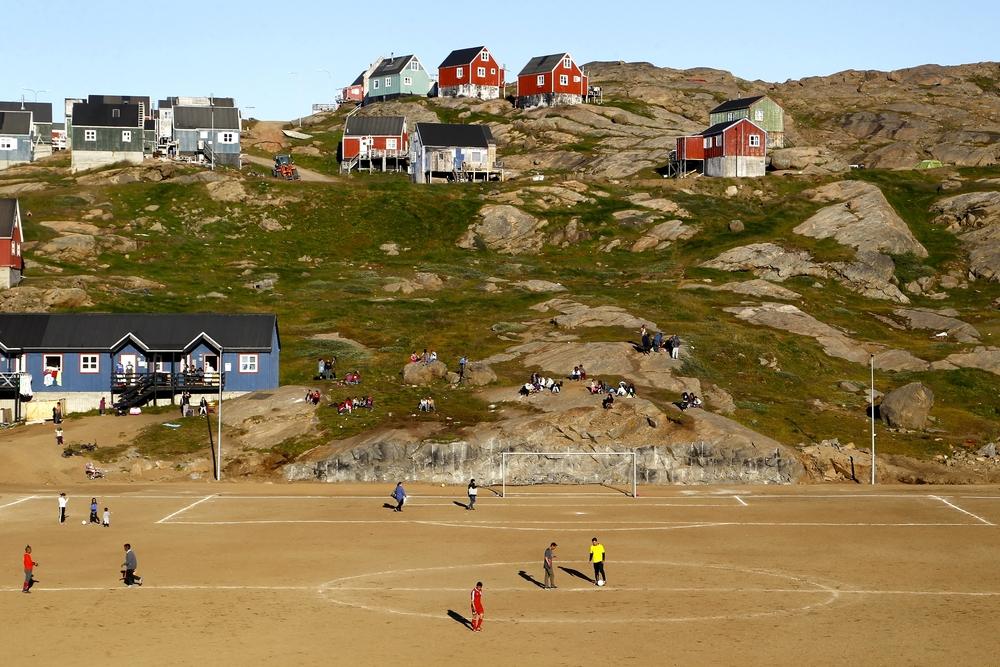 футбольные поля в мире От понтона до небоскреба: самые необычные футбольные поля в мире shutterstock 763599007