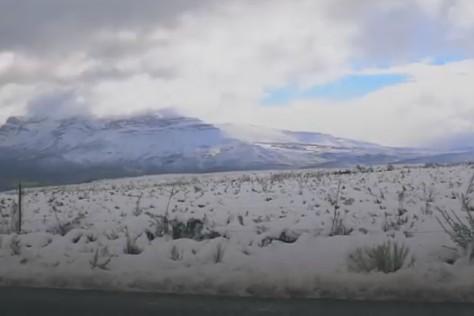 В ЮАР впервые за 10 лет случился сильный снегопад