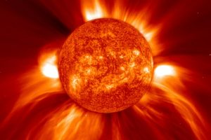Вибрации Солнца превратили в звук