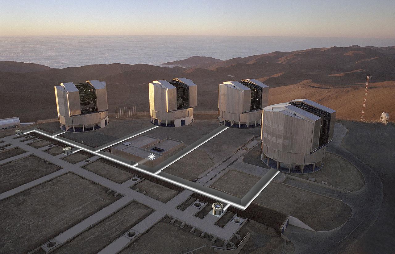 Наземный телескоп превзошел Хаббл по качеству фотографий