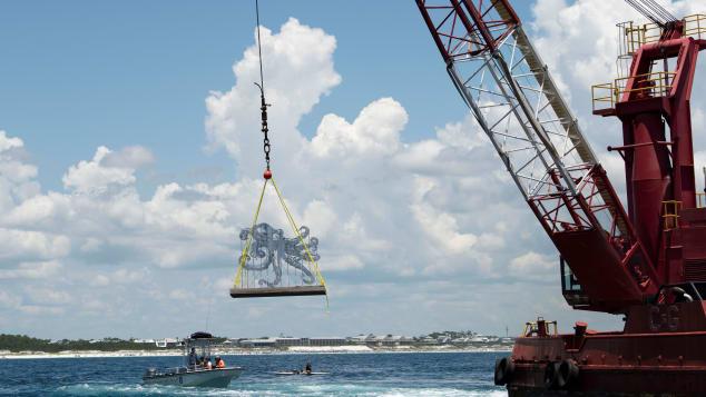 У берегов Флориды появился подводный музей