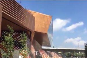В Мехико за секунду рухнул торговый центр — видео