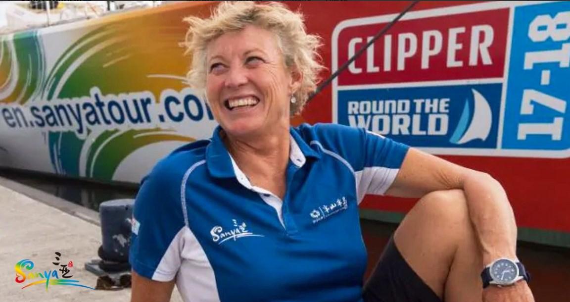 Впервые в истории женщина выиграла кругосветные гонки на яхте.Вокруг Света. Украина