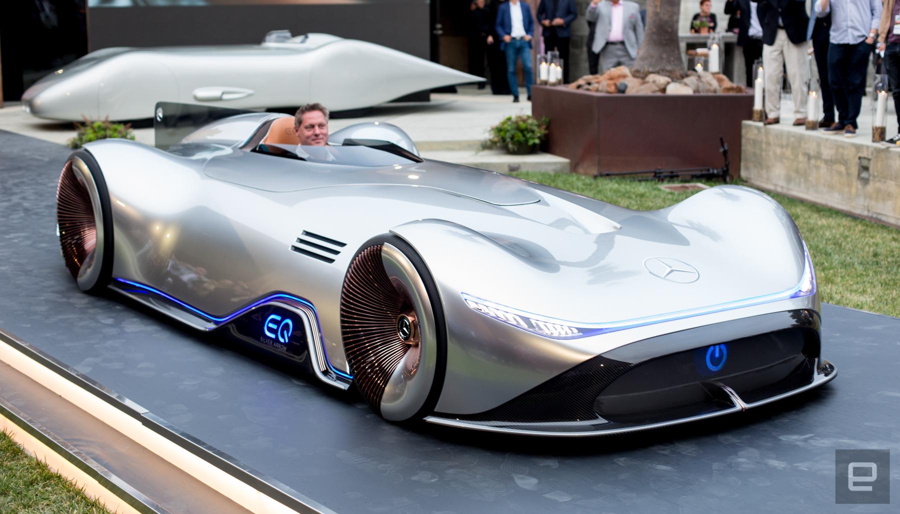Mercedes превратил довоенную