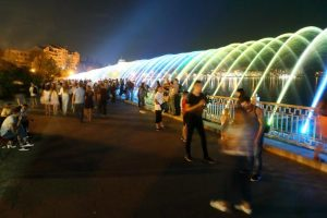 В Тернополе появился самый длинный в Украине фонтан