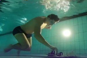 В Великобритании состоялся чемпионат по подводным шахматам