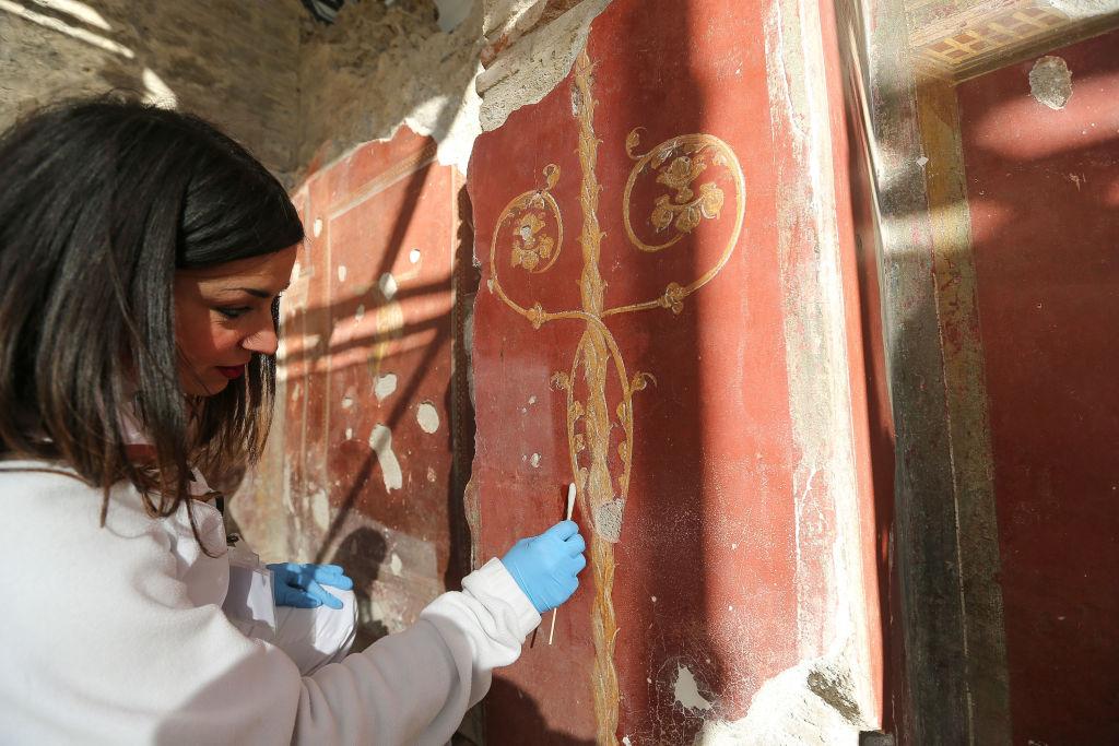 В Помпеях раскопали роскошную виллу с