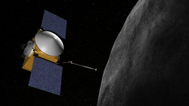 Зонд NASA долетел до астероида Бенну