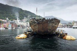 В Норвегию вернулся корабль Амундсена