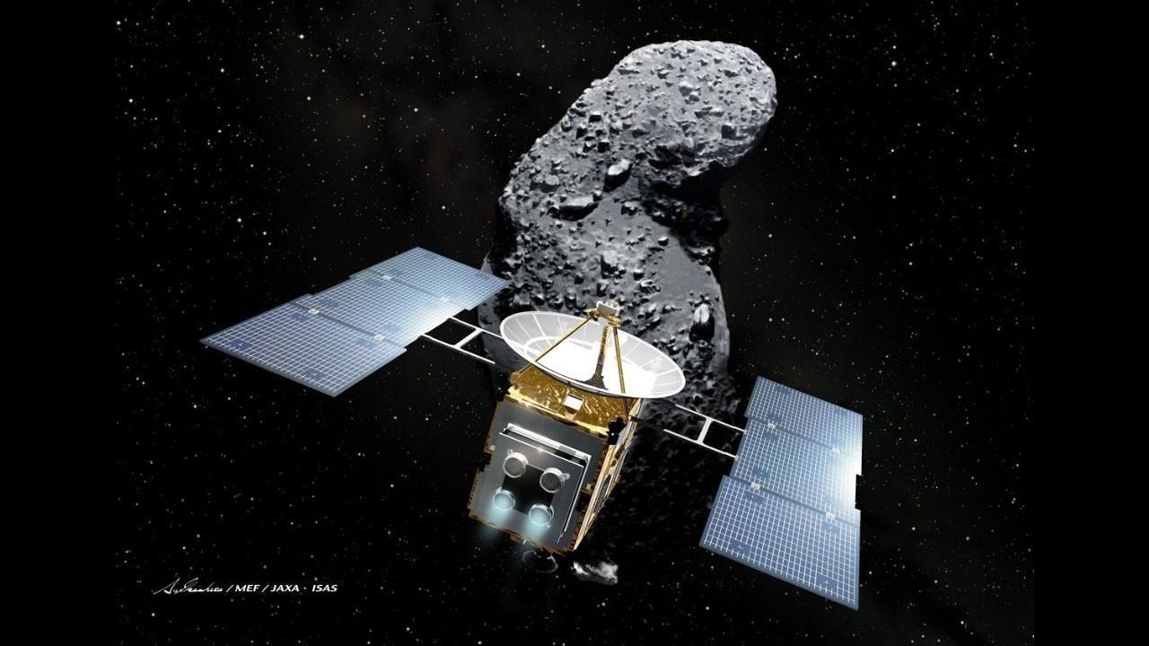 Японские астрономы раскрыли биографию астероида Итокава
