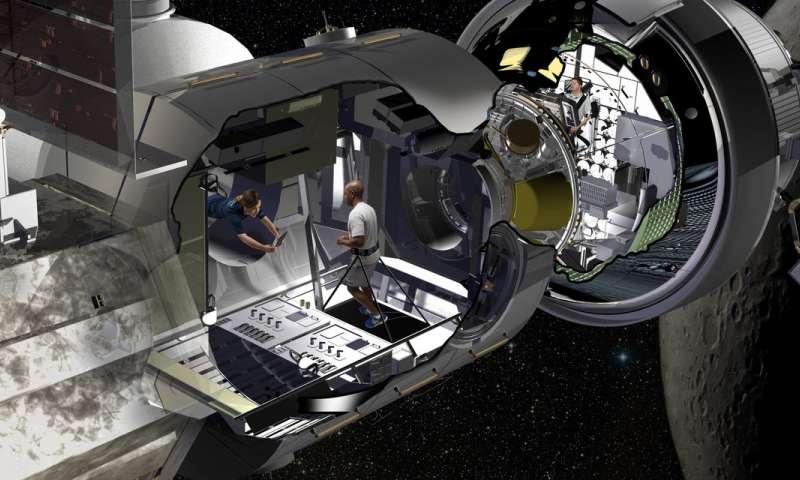 Американцы показали, какой будет жилая станция на орбите Луны