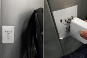 В аэропорту Лос-Анджелеса пассажиров разыграли с помощью наклеек