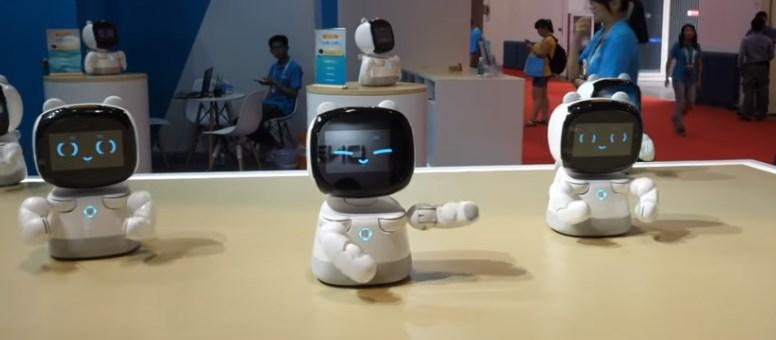 В Пекине прошла выставка робототехники
