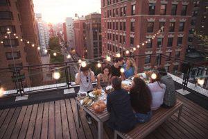 Высокая кухня: 5 ресторанов и баров на крышах Нью-Йорка