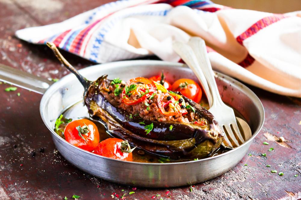 Кухни мира: фаршированные баклажаны по-турецки